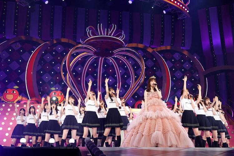 乃木坂46「さ~ゆ~Ready? ~さゆりんご軍団ライブ / 松村沙友理 卒業コンサート~」の様子。