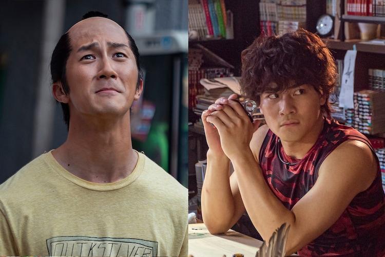 左から濵田崇裕(ジャニーズWEST)が演じる逢坂総司郎、森本慎太郎(SixTONES)が演じる緋村清人。