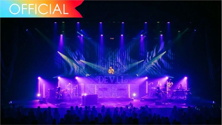 """ビッケブランカ「『ミラージュ』(from Devil Tour """"Promised""""2021.3.28 at NAKANO SUNPLAZA)」より。"""