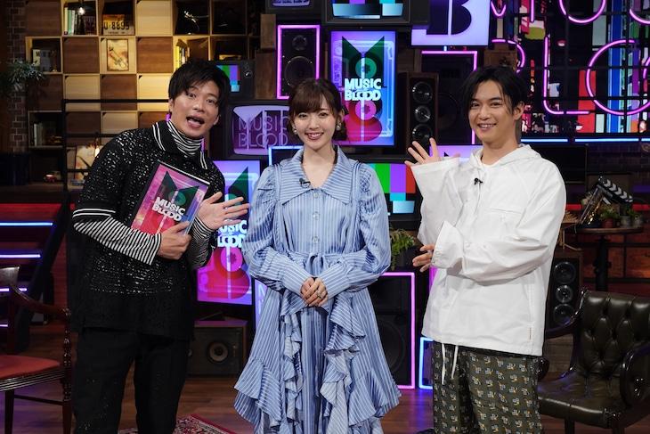 左から田中圭、鈴木愛理、千葉雄大。 (c)日本テレビ