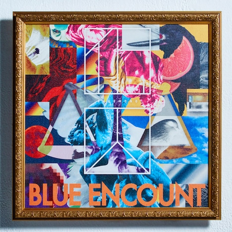 BLUE ENCOUNT「囮囚」初回限定盤ジャケット