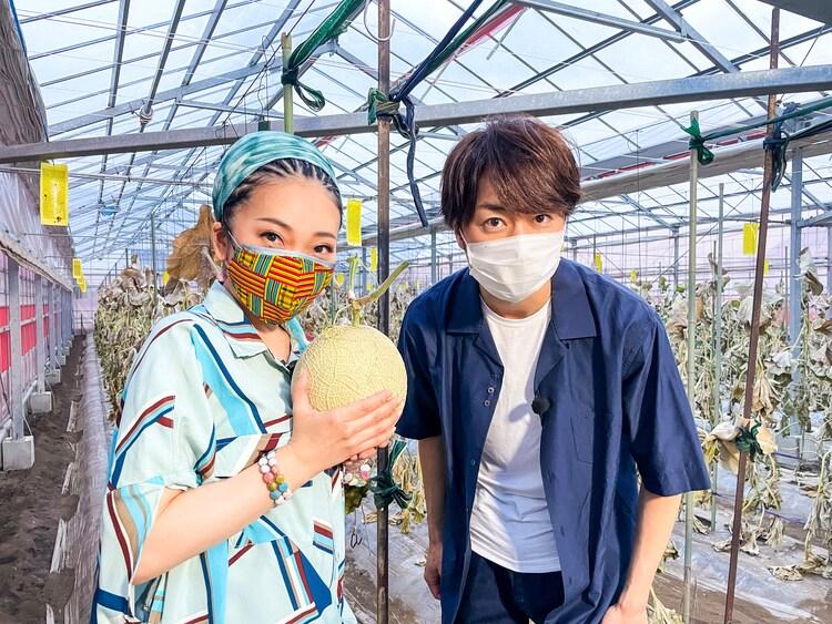 左からMISIA、櫻井翔 (嵐)。(c)日本テレビ