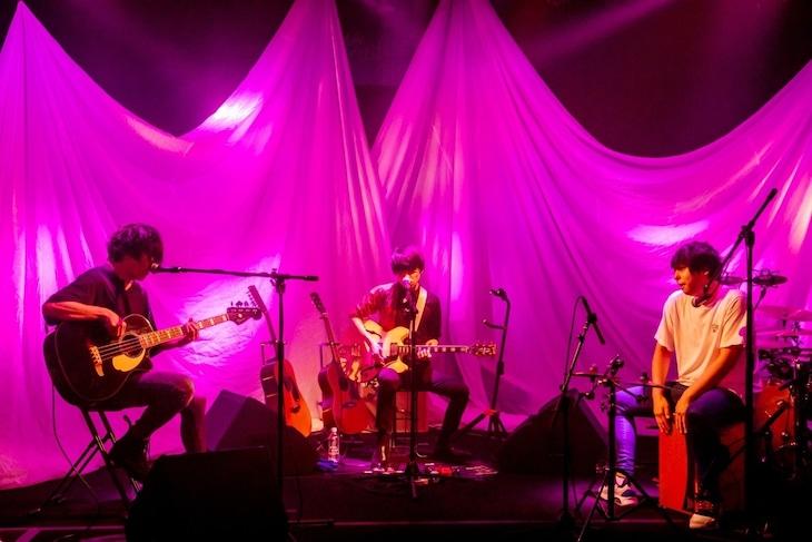「UNICITY LIVE ONLINE」7月23日公演の様子。(Photo by Viola Kam[V'z Twinkle])