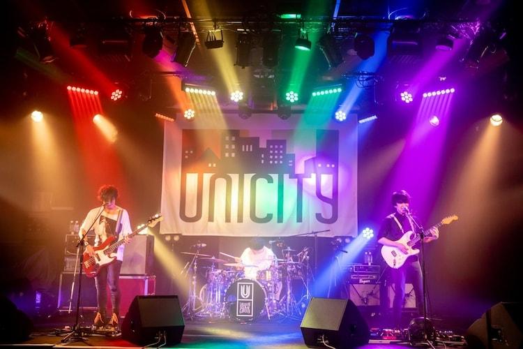 「UNICITY LIVE ONLINE」7月24日公演の様子。(Photo by Viola Kam[V'z Twinkle])