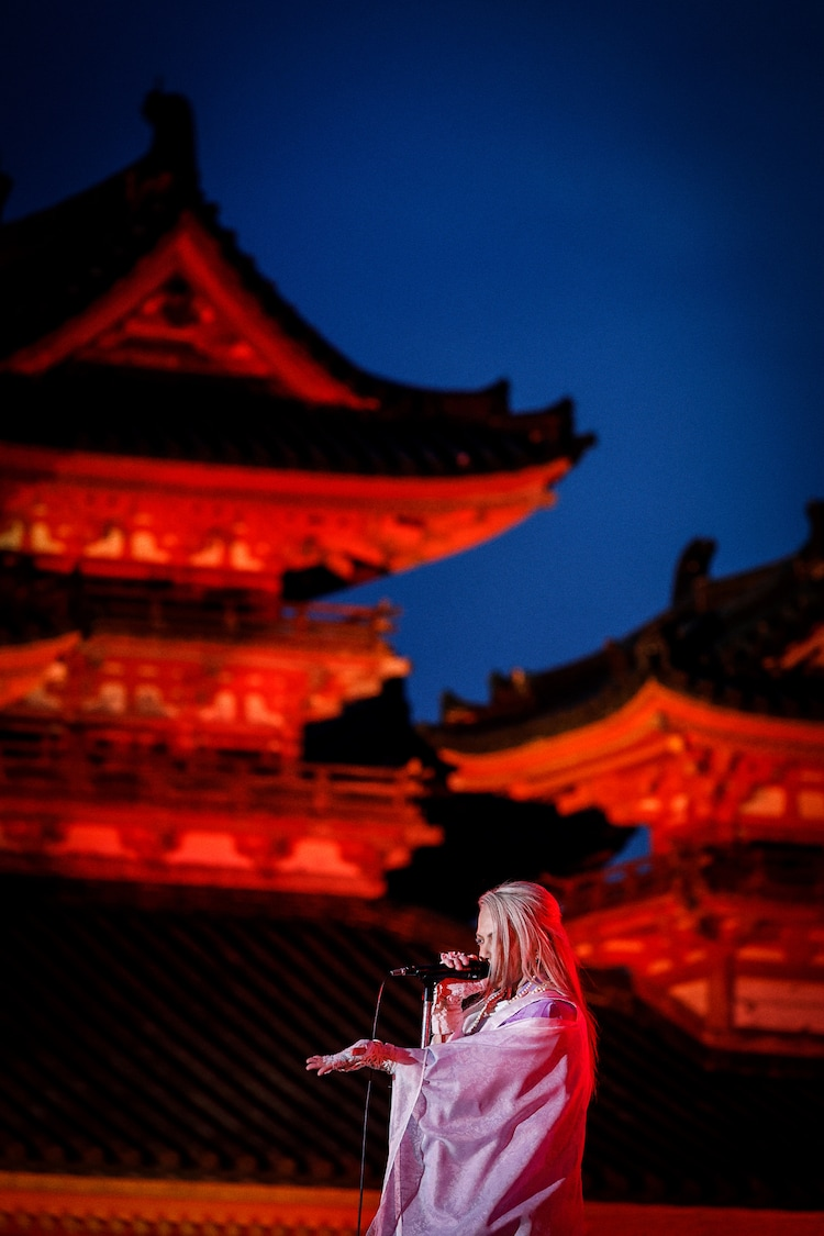 「20th Orchestra Concert 2021 HYDE HEIANJINGU」の様子。