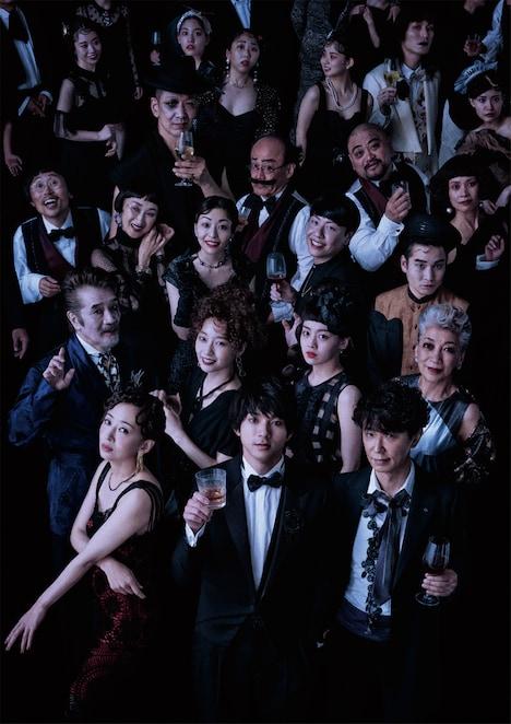 舞台「PRODUCE2021音楽劇『海王星』」メインビジュアル