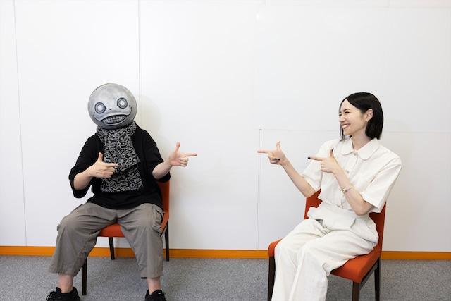気が合うヨコオさんとのっちさん。