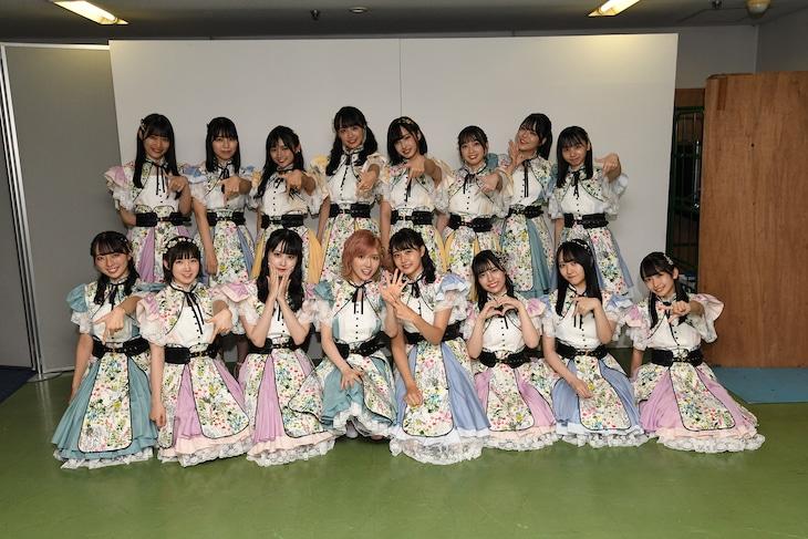 STU48 「ヘタレたちよ」の選抜メンバー。(c)STU