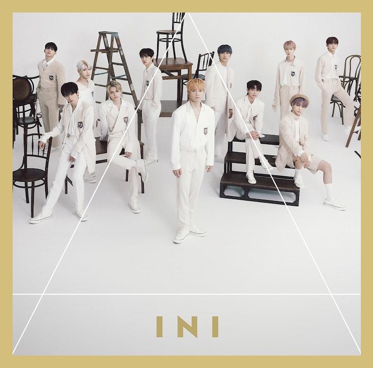 INI「A」初回限定盤Bジャケット