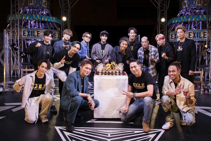 「ABEMA×LDH 2021 スペシャルファンミーティング@EXILE TRIBE STATION in YOKOHAMA」の様子。