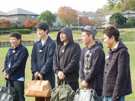 大晦日特番「ダウンタウンのガキの使いやあらへんで!! ダウンタウンの大晦日スペシャル!! 『絶対に笑ってはいけない空港(エアポート)24時!』」の一場面。(c)日本テレビ
