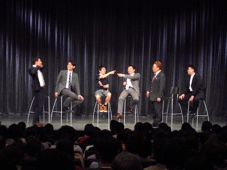 中川家、サンドウィッチマン、ナイツによる新ライブ「漫才サミット」。