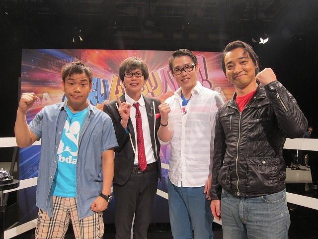 写真左から、アンバランス山本、磁石・永沢、ギンナナ金成、ジャングルポケット斉藤。