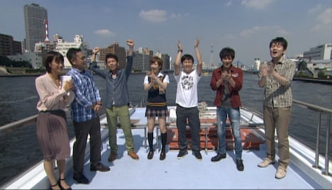 今夜放送の「くりぃむナントカ」の一場面。(c)テレビ朝日
