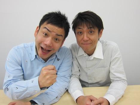 2013年2月4日より太田プロダクション所属となったアンバランス。左が山本、右が黒川。