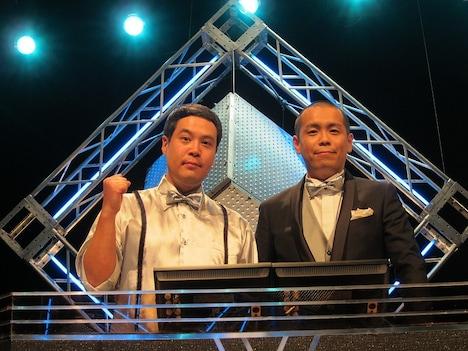 3月27日(水)深夜放送のクイズ番組「タカトシのクイズ!サバイバル」で司会を務めるタカアンドトシ。