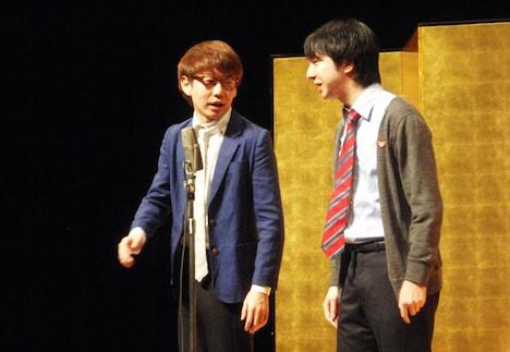 「漫才新人大賞」予選を通過した三四郎。