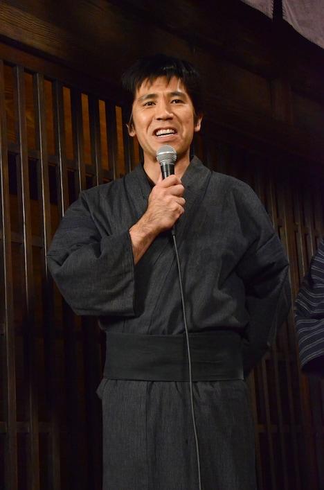 松次郎役のゴリ。