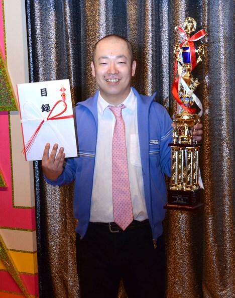 第5回「お笑いハーベスト大賞」で優勝したルシファー吉岡。