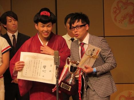 「平成26年度 漫才新人大賞」優勝の母心。