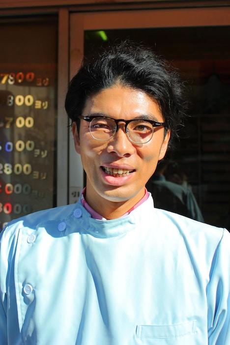 「東京センチメンタル」に出演する片桐仁。(c)テレビ東京