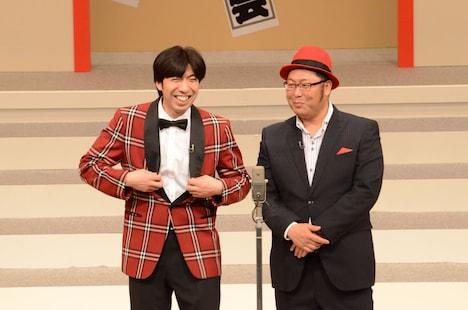 Wコロン。写真は昨年11月28日に東京・浅草公会堂にて行われた「第45回 漫才大会」の模様。