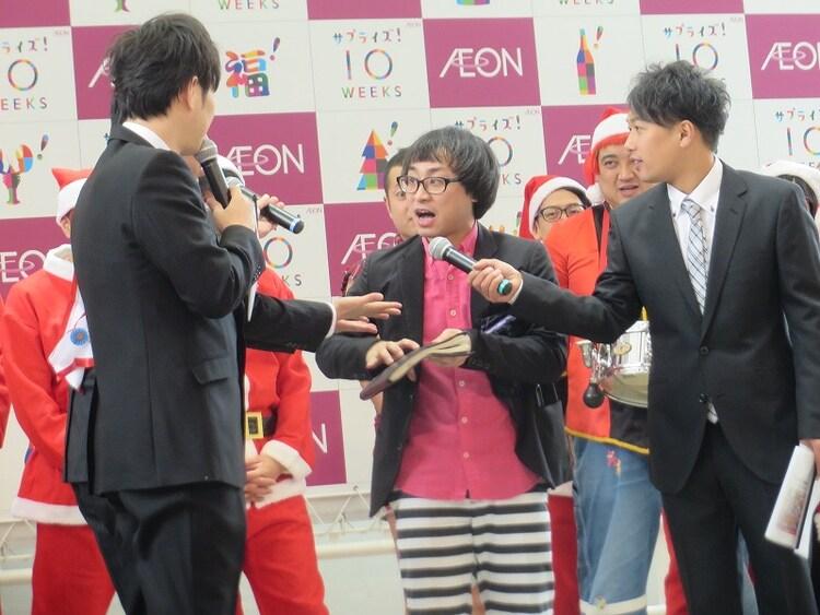 今田の来年の運勢を占い、「ハズれたらクビな」と言われてしまったアポロン山崎。