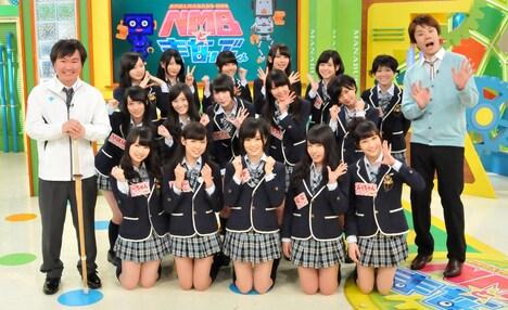 「NMBとまなぶくん 女芸人軍団が殴り込み!? 最強ばかこ&ダサ子決定戦SP」(c)関西テレビ