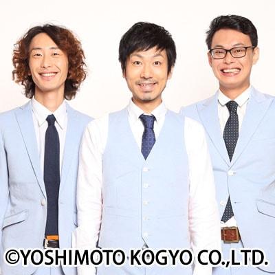 GAG少年楽団。中央が入籍した福井。左が坂本、右が宮戸。