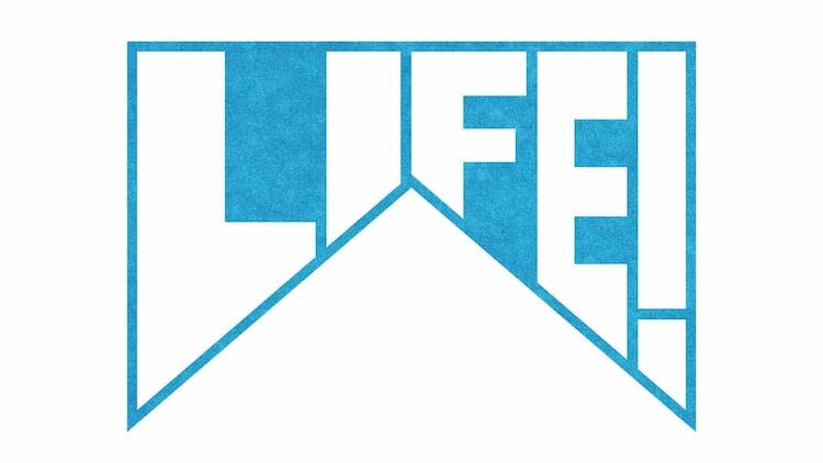 「LIFE!~人生に捧げるコント~」ロゴ