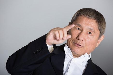 北野武監督 (c)2015「龍三と七人の子分たち」製作委員会