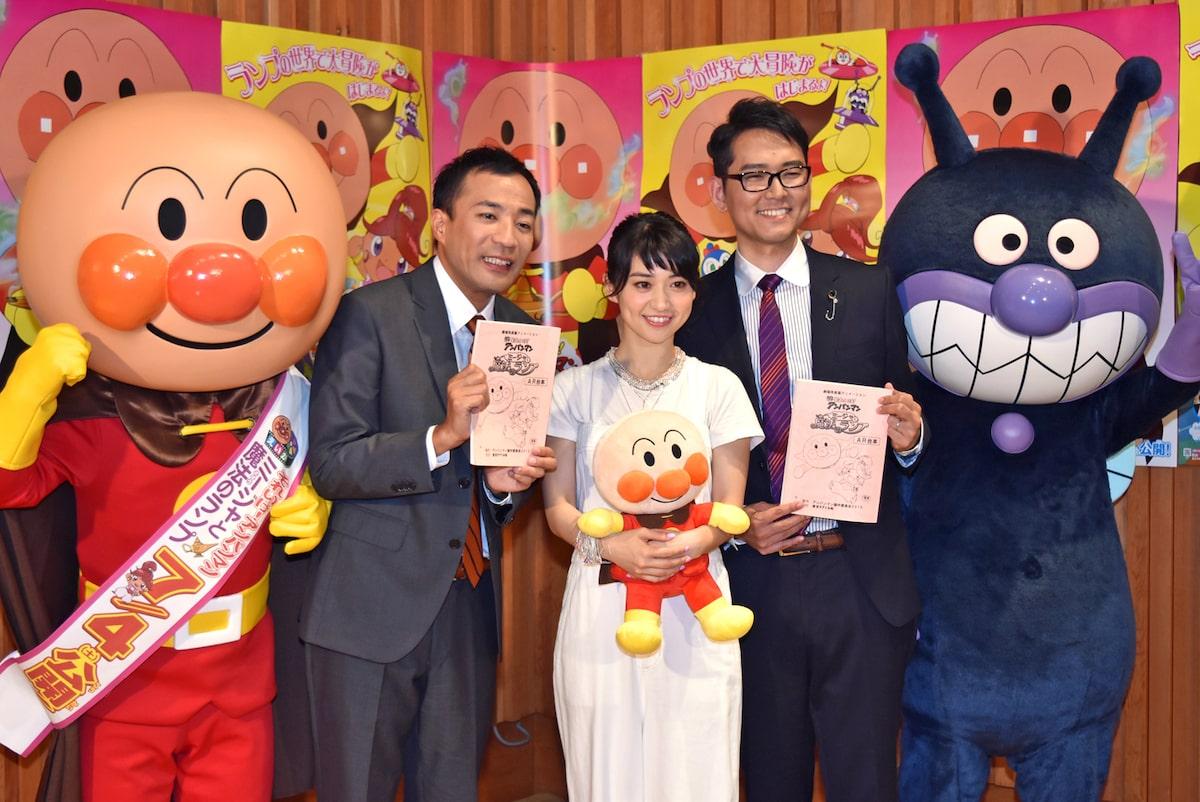 大島優子とナイツが アンパンマン 声優に挑戦 新キャラ Theパン を