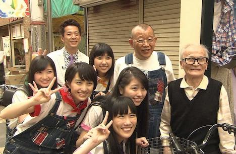 大阪ロケの様子。(c)関西テレビ