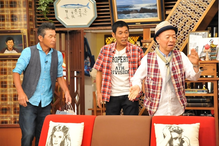 「さんまのまんま」に登場した坂田利夫(右)。(c)関西テレビ