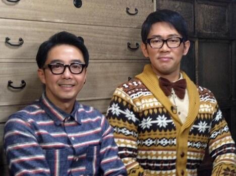 「家、ついて行ってイイですか?」に出演している(左から)おぎやはぎ矢作、ビビる大木。 (c)テレビ東京