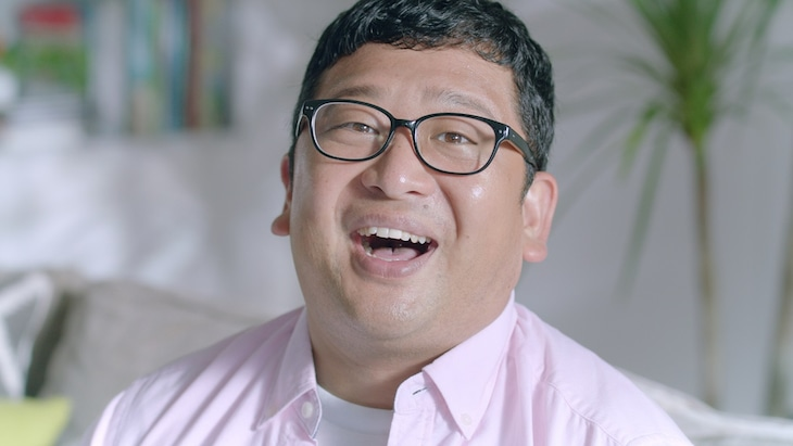 「キリン のどごし オールライト」の新CMに出演するWエンジン・チャンカワイ。