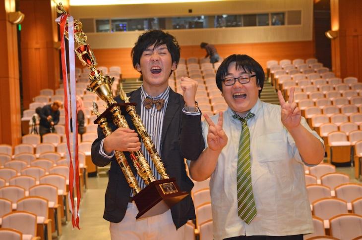 「月笑」で2連覇したタイムマシーン3号。