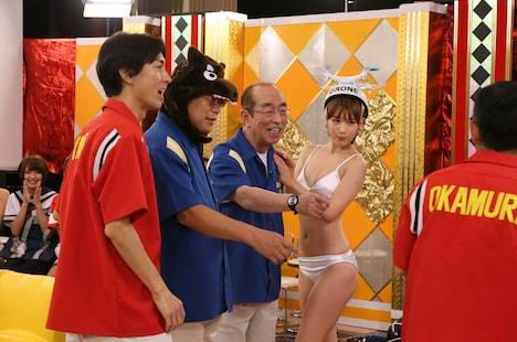 「志村・鶴瓶のあぶない交遊録19」のワンシーン。(c)テレビ朝日
