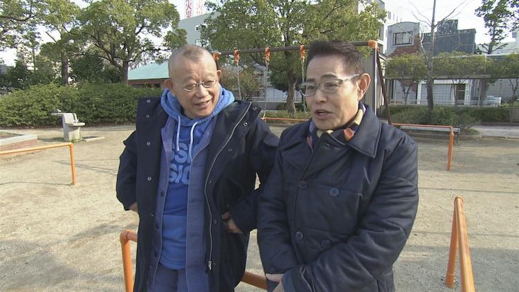 鶴瓶の家族に乾杯「加藤茶 愛知県豊橋市ぶっつけ本番旅」のワンシーン。(c)NHK