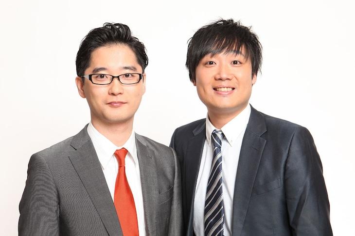 田畑藤本。左から藤本淳史、田畑勇一。