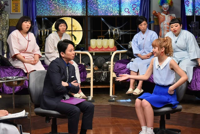 「真夜中の保健室」のワンシーン。(c)日本テレビ
