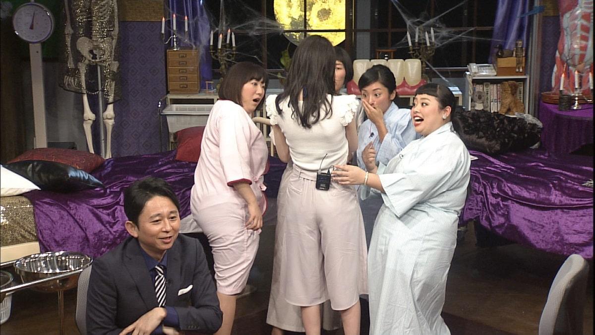 有吉MC「真夜中の保健室」で森三中黒沢が松井咲子の胸をチェック ...