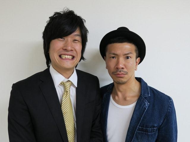 笑撃戦隊・野村(左)。