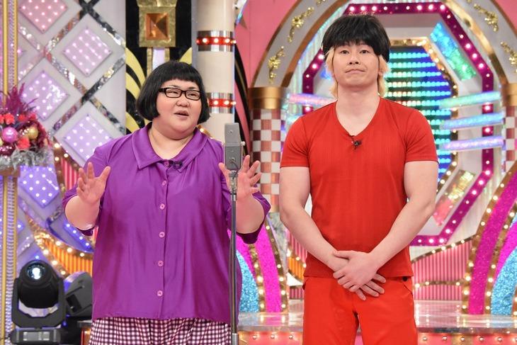 メイプル超合金 (c)日本テレビ