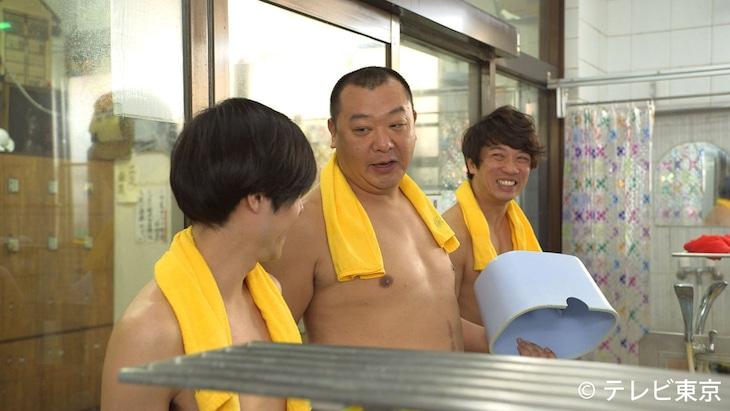 「土曜ドラマ24『昼のセント酒』」に出演するTKO。