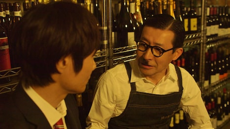 「昼のセント酒」第4話に出演するイワイガワ岩井ジョニ男。(c)テレビ東京
