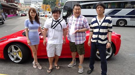 ブラックマヨネーズ(右)ら出演者たち。(c)関西テレビ