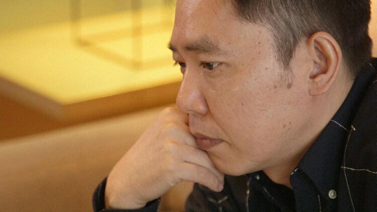 インタビューに答える爆笑問題・太田。(c)NHK