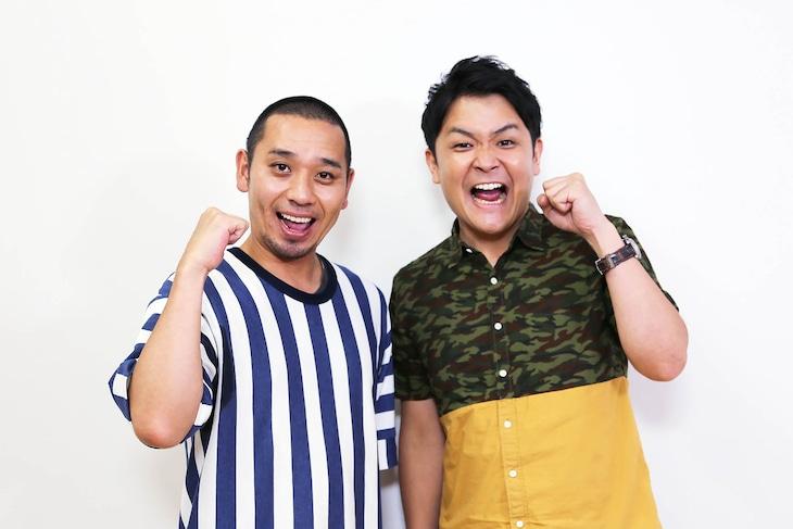「NEO決戦バラエティ キングちゃん」でMCを務める千鳥。(c)テレビ東京