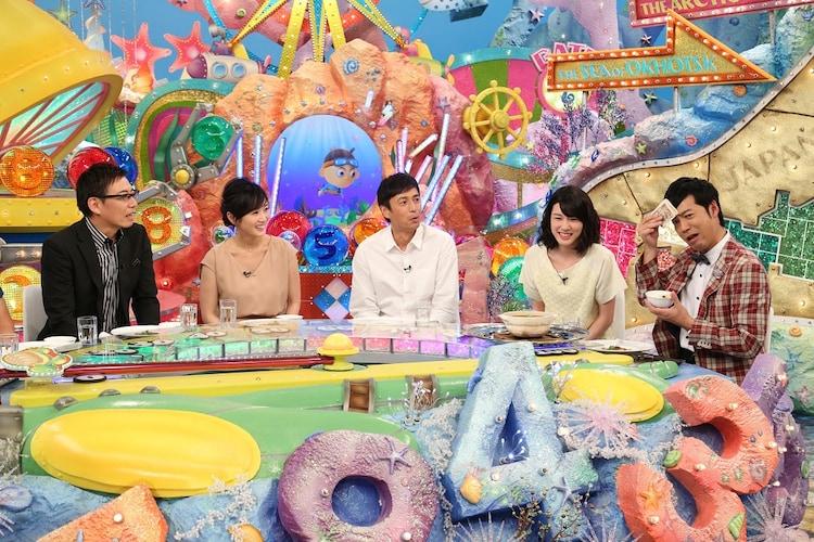 「ニッポンのぞき見太郎」にゲスト出演する東貴博(右端)。(c)関西テレビ